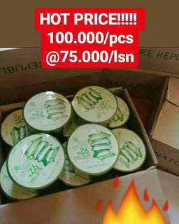 Nature republic aloe vera 100% asli korea
