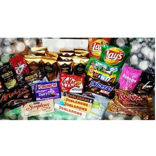 Imported Chocolates and Local Goodies