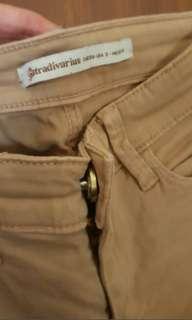Pants stradivarius cream