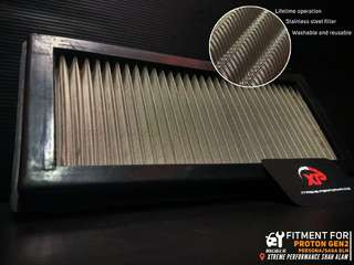 AIR FILTER Drop in for proton GEN 2 persona satria neo