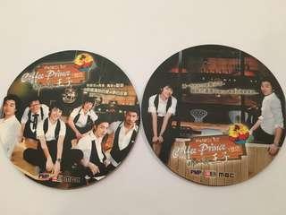 2pcs Coffee Prince Coasters