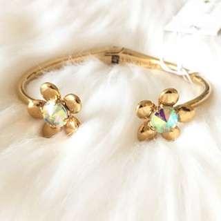 Kate Spade New York Sunset Blooms Cuff Bracelet (INSTOCK)