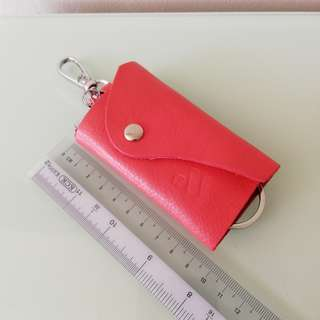 Key Chain with leather cover