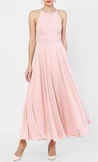 Love Bonito Bautrice Mesh Maxi Dress