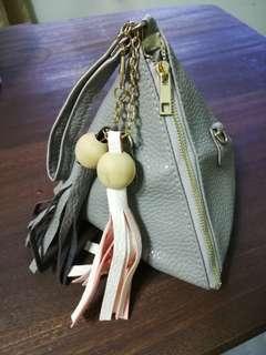 Women's Triangular Design Handbag