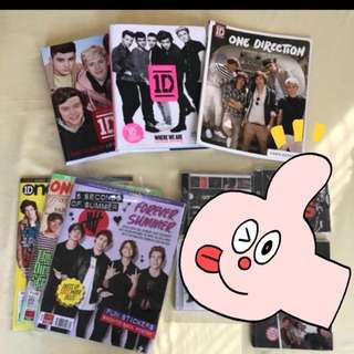 ONE DIRECTION 1D 5 SECONDS OF SUMMER BUNDLE 5SOS BOOKS