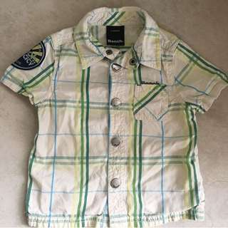 Bench UK Designer Baby Boy Shirt 6-12m