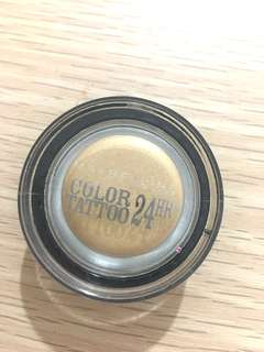 Maybelline Color Tattoo 24hr Gold Eyeshadow