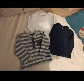 Baju Baby Boy Bundle from UK Shirt 6-9m