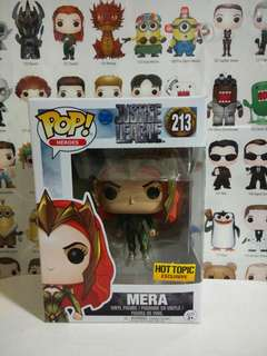 Funko Pop Mera Hot Topic Exclusive Vinyl Figure Collectible Toy Gift Movie Justice League DC Comic Super Hero