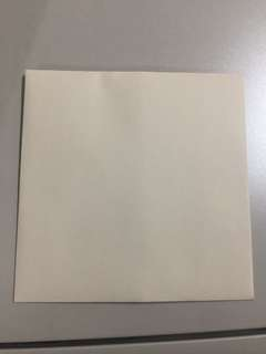 Cream colour - Wedding and invitation envelopes