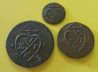 OLD COINS ( 1 SET ) PENANG CURRENCY