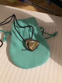 TIFFANY & CO FULL HEART PENDANT