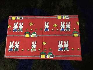 Vintage Miffy cloth panel