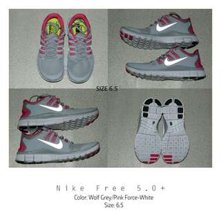Pink × Gray Shoes
