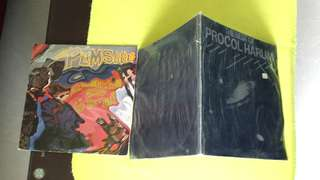 PROCOL HARUM ● THE PLIMSOULS.  the best of / a million miles away ~ i'll get lucky ( buy 1 get 1 free )  vinyl record