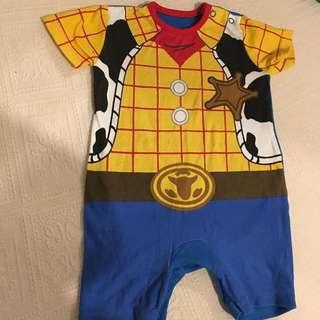 Disney George Baby Boy Romper 3-