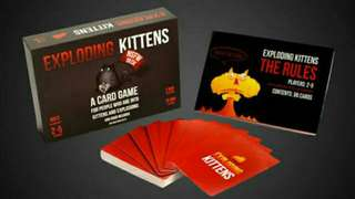 Exploding Kittens NSFW and the Orignal