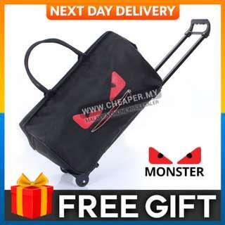 Korean Version Monster Waterproof lightweight Trolley Travel Bag