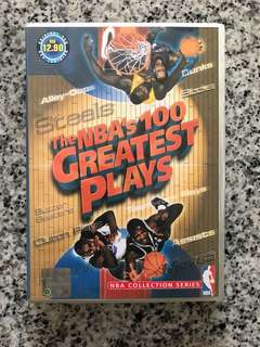 The NBA's 100 Greatest Plays VCD