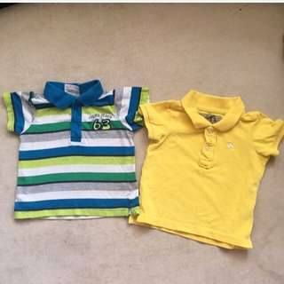 Polo Shirt Baju Baby Boy 3-6m