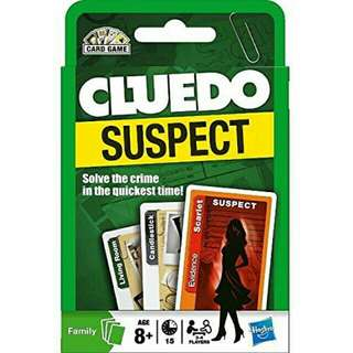 Cluedo Card Games