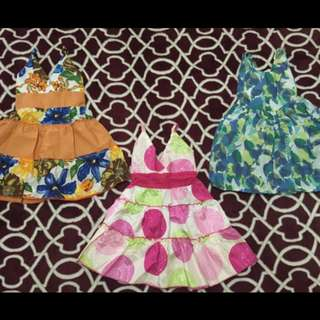 Baby dress bundle for 1 yr old
