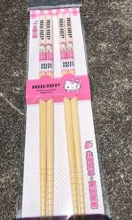 Hello kitty 筷子組 (全新) 三麗鷗認證