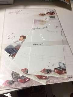 韓國插畫風信紙套裝
