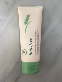 Innisfree green barley cleansing cream
