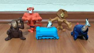 MacDonald Madagascar collectibles / figurines