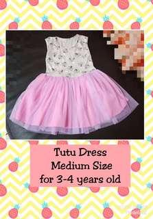 Tutu Dress Minnie Mouse & Polka Dots