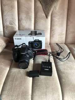 CANON 80d Wi-Fi fullset + lensa standar 18-55