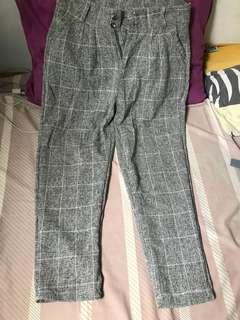 Gray Square Pants