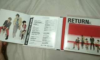 FT ISLAND MINI ALBUM: RETURN