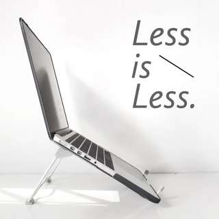 🚚 LESS - The Foldable Stand for Laptops & Tablets