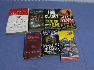 Take ALL!! Bunch of Books