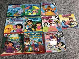 Dora and Power Puff Girls Books