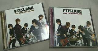 FT ISLAND - FIVE TREASURE ISLAND(2 ver)
