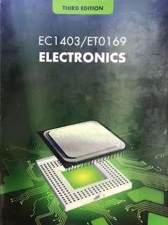 ec1403/et0169 electronics textbook