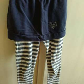 Big & Small Co Leggings with Skirt