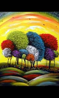 Oil Painting (In stock)