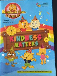 Kindsville times junior- primary 1 and 2 issue 2/2018