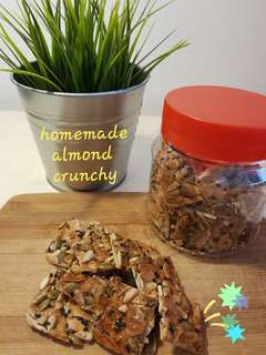 Homemade Crunchy Almond by Ary P