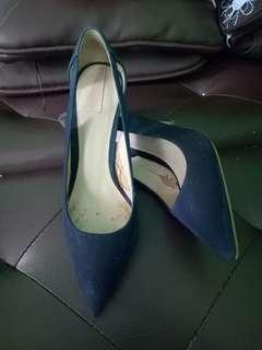 Heels woman aldo navy