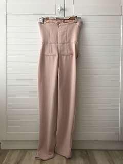 🚚 粉嫩平口Top shop's jumpsuit