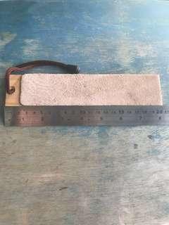 Bushcraft leather strop