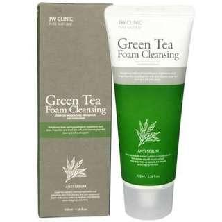 Green Tea Foam Cleansing from Korea