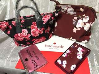 Marc jacobs kate spade bag and wallet bundle