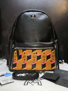 Ready Stock MCM 2 way Backpack